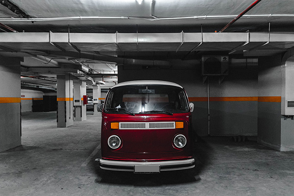 föreningens parkeringsplatser