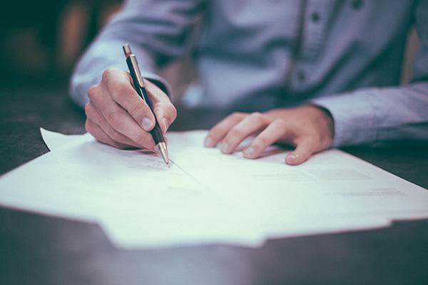 ordning på avtal i föreningen